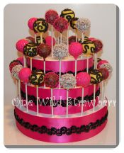 Fancy Cake Pop Cake